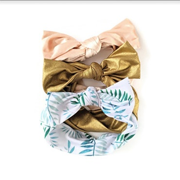 Knotted Baby Headbands
