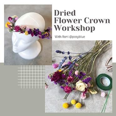 Dried Flower Crown Workshop