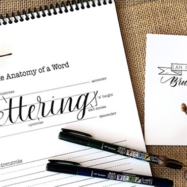 An Introduction to Brush Lettering